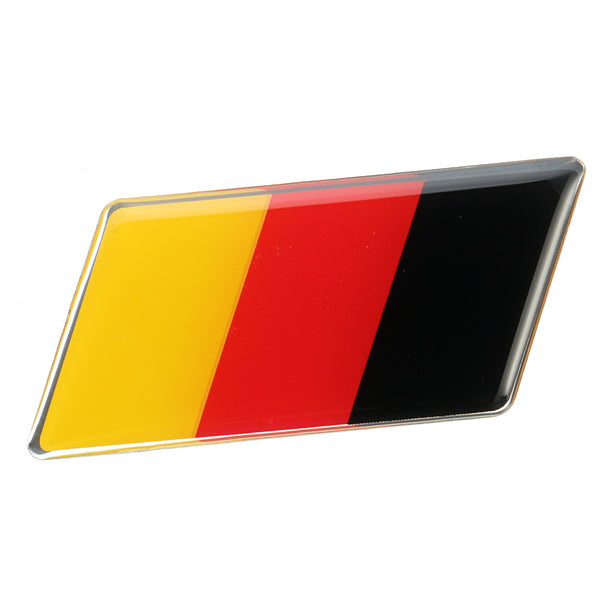 Universal Car Germany Flag Badge Emblem Decal Sticker for Front Grille Side for Fender Flares