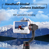 Handheld Gimbal Camera Stabilizer 3-axis 360°Camera Motion Holder