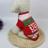 Christmas Cute Dog T Shirt Pet Clothes Apparel Vests Costumes Clothing Costume Chritmas Cute Dressing Up Clothing