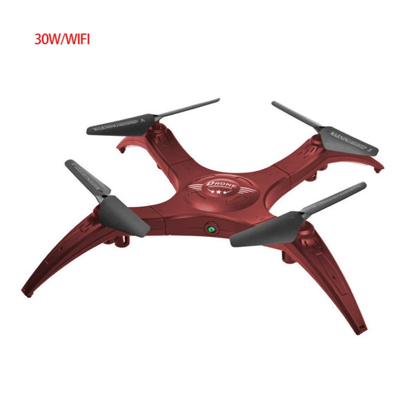 smart RC Drone Quadcopter 0.3MP Camera RC Drone recording Altitude Hold Wi-Fi FPV 2.4GHz Quadcopter with Controller dropshipping