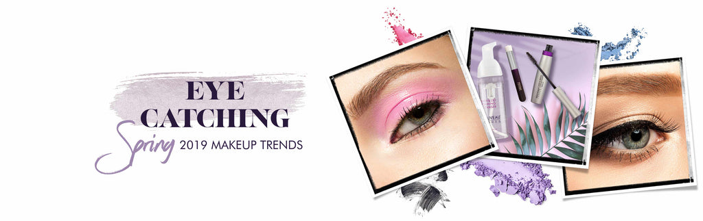 EYE CATCHING: SPRING 2019 MAKEUP TRENDS