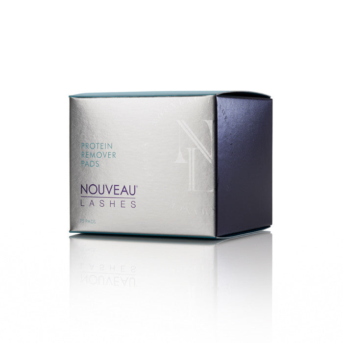 Protein remover pads (tub of 75) - Nouveau Lashes USA