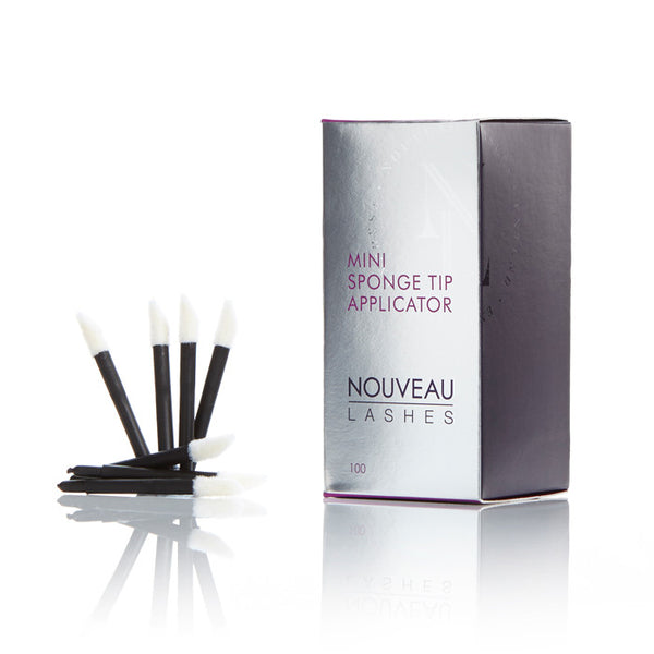 Mini Sponge Tip Applicators - Nouveau Lashes USA