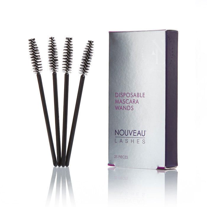 Disposable Retail Mascara Wand 25 pcs - Nouveau Lashes USA