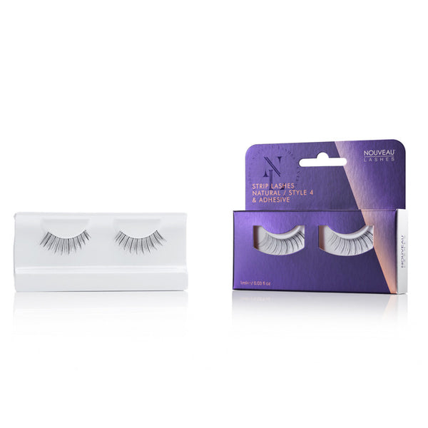 Strip Lash Natural / Style 4 - Nouveau Lashes USA
