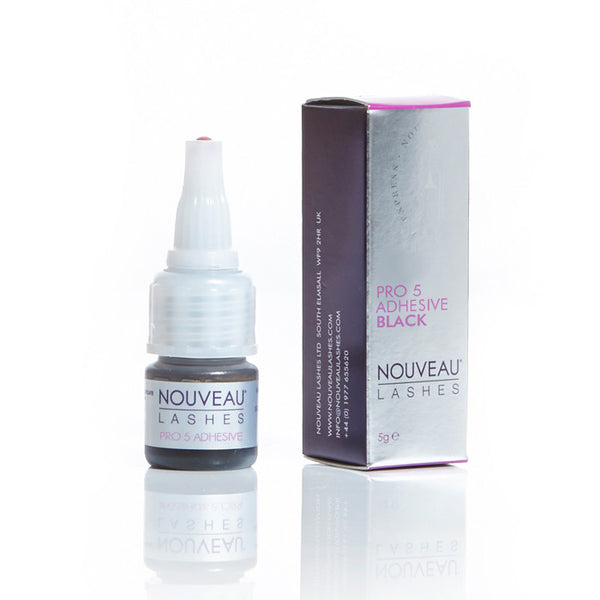 Adhesive - Pro 5, Black, 5g - Nouveau Lashes USA