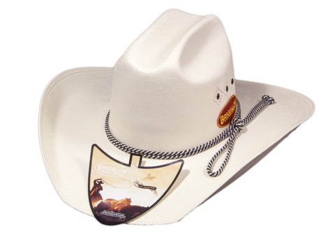 Brigalow Triple Diamond White Hat