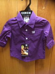 Cinch Childrens L/S Shirt