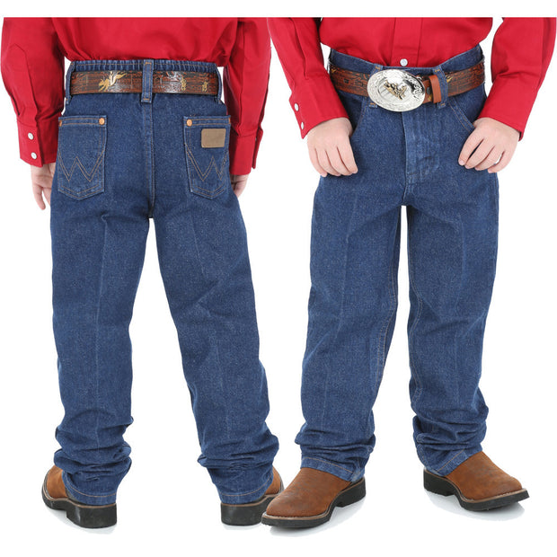 Wrangler Childrens Cowboy Cut Elastic Back Jeans