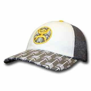 "Hooey ""Lozen"", Grey/ White Ladies Cap"