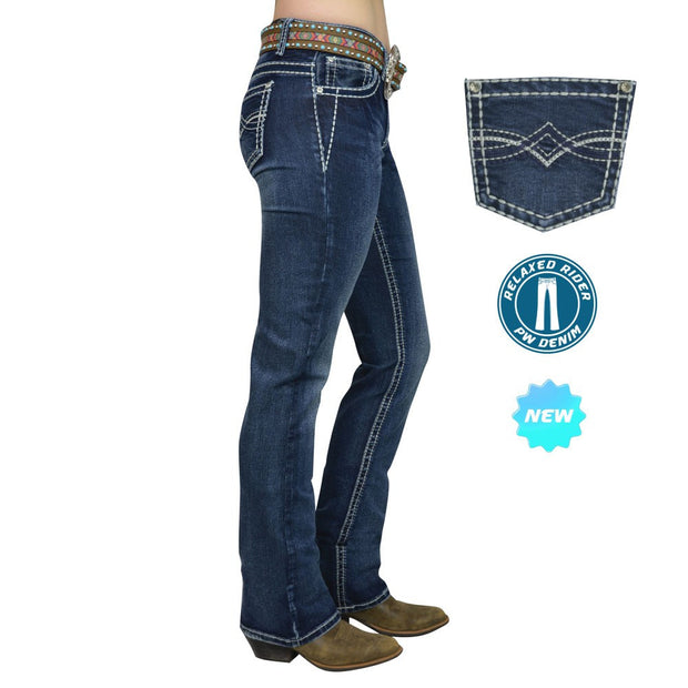 Pure Western Dakota Relaxed Rider Jean
