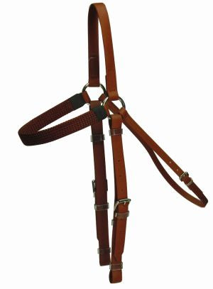 PVC Barcoo Bridle Brown Full