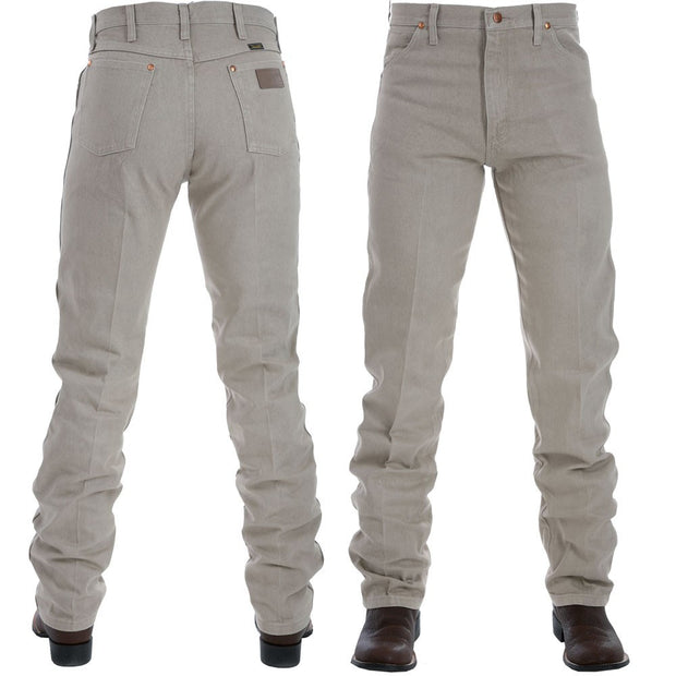 Wrangler Original Fit Tan Jeans