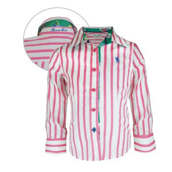 Girls Annette Stripe L/S Shirt