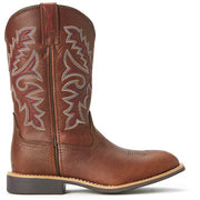 Twisted X CowKids Top Hand Boot - Oiled Brown/Brown