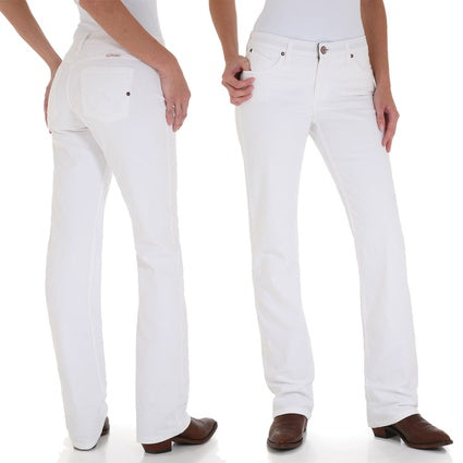 Wrangler Q Baby White Jeans - On Sale - Slight discolouration