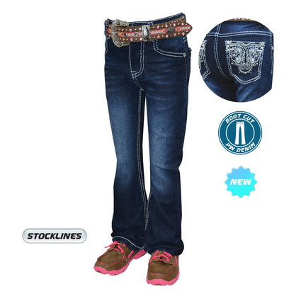 Pure Western Girls Haley Boot Cut Jean