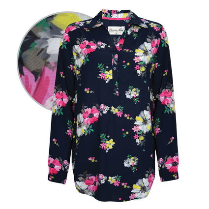 Thomas Cook Ladies Lulu Print L/S Tunic Shirt