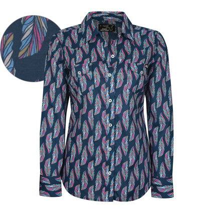 Pure Western Ladies Trixie Print L/S Shirt