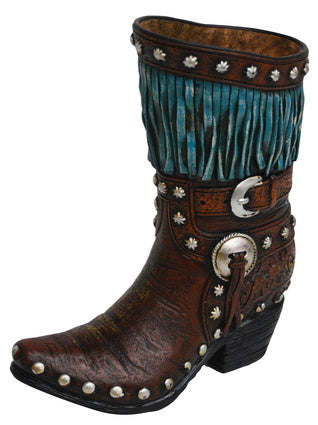 Resin Fringe Boot Large