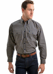 Thomas Cook Men's Smithton Check 2-Pocket Long Sleeve Shirt