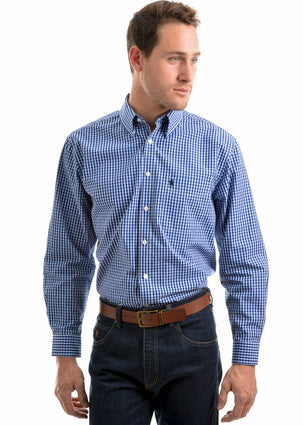 Thomas Cook Men's Tumbarumba Check Long Sleeve Shirt
