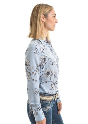 Pure Western Ladies Sage L/S Sleeve Shirt