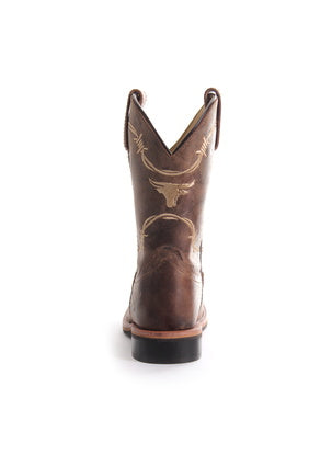 Pure Western Kit Square Toe Children's Boots