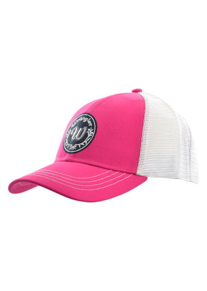 Wrangler Ladies Nellie Trucker Cap- Fuschia