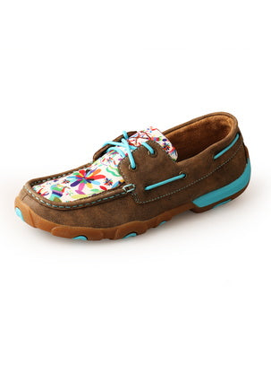 Twisted X Ladies Carnival Mocs Low Lace Up