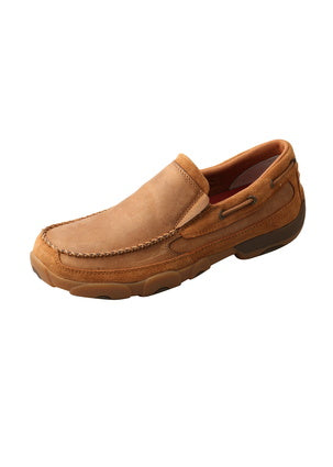 Twisted X Mens Classic Tan Moc Slip On