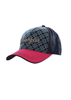Wrangler Ladies Piper Cap- Navy/ Cherry