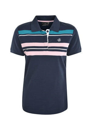 PURE WESTERN WOMENS BECCY S/S POLO