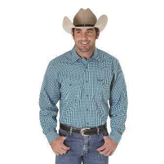 Mens Trevor Brazile Check L/S Shirt