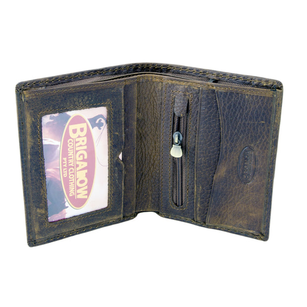 Brigalow Campdrafter Bifold Leather  Wallet