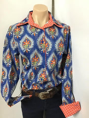 Nettie's Kayleigh Print L/S Ladies Shirt