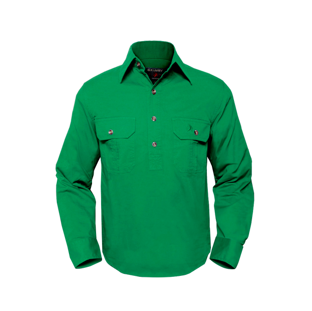 Brumby Workshirt - Green