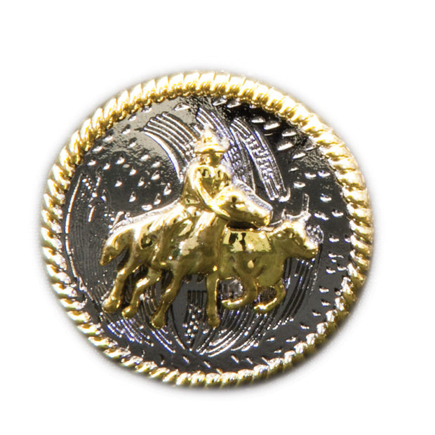 Brigalow Gold Campdrafter on Silver Concho