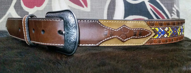 Hooey Men's Leather Belt