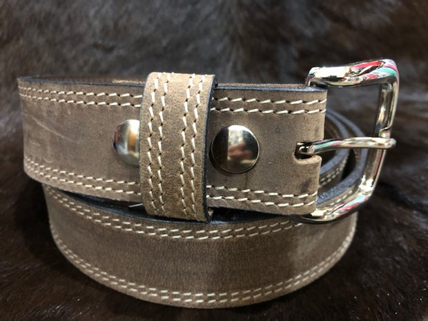 Boss Cocky Mens Vintage Brown Belt