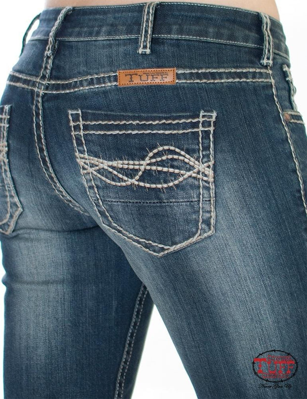 Cowgirl Tuff Down To Earth Ladies Jeans