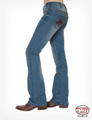 Cowgirl Tuff Vintage Wild and Wooly Ladies Jeans