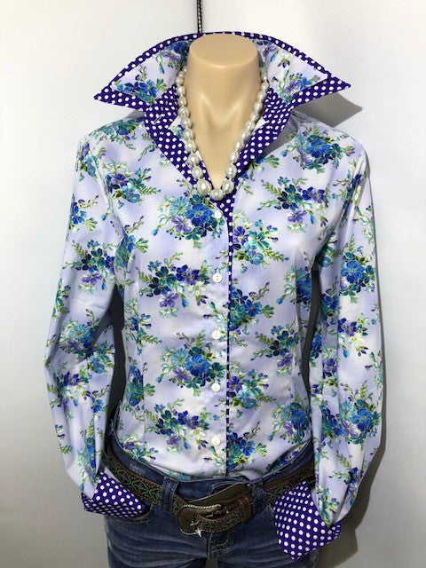 Netties Country Creations Ladies Fitted L/S Shirt - Isabella