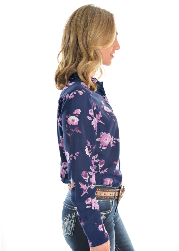Pure Western Ladies Margot Print L/S Shirt