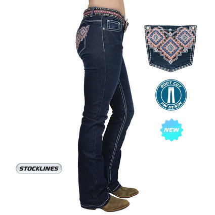 Pure Western Womens Macy Boot Cut Jean