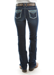 Pure Western Ladies Alice Relaxed Rider Jean- 36 Leg