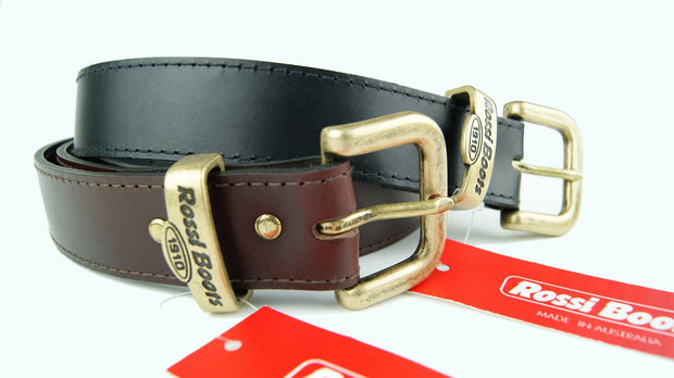 Rossi Brown Leather Belt