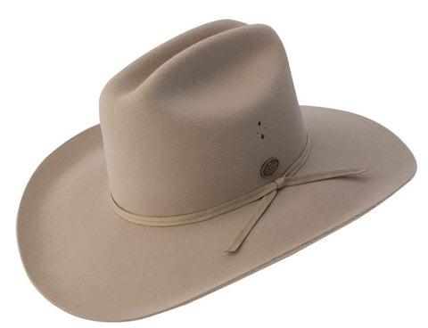 Statesman Hat - Serpentine - Light Cream