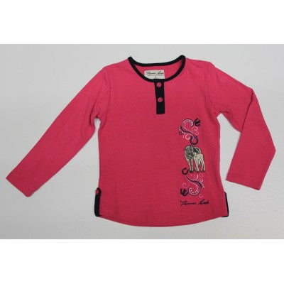 Thomas Cook Girls Scarletts Horse Applique L/S Top