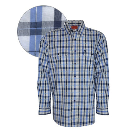 Thomas Cook Mens Claude Check 2Pkt L/S Shirt